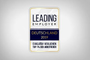 Das LEADING EMPLOYERS Siegel